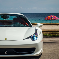 Exotic Car Rental Birthday Ferrari