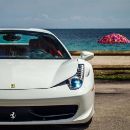 Exotic Car Rental Birthday Ferrari